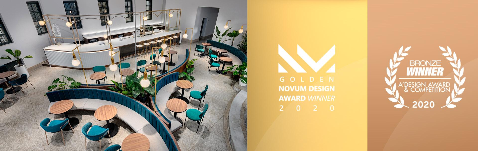 溫故知新咖啡館 revival cafe 榮獲 A'Design Award 2020銅獎